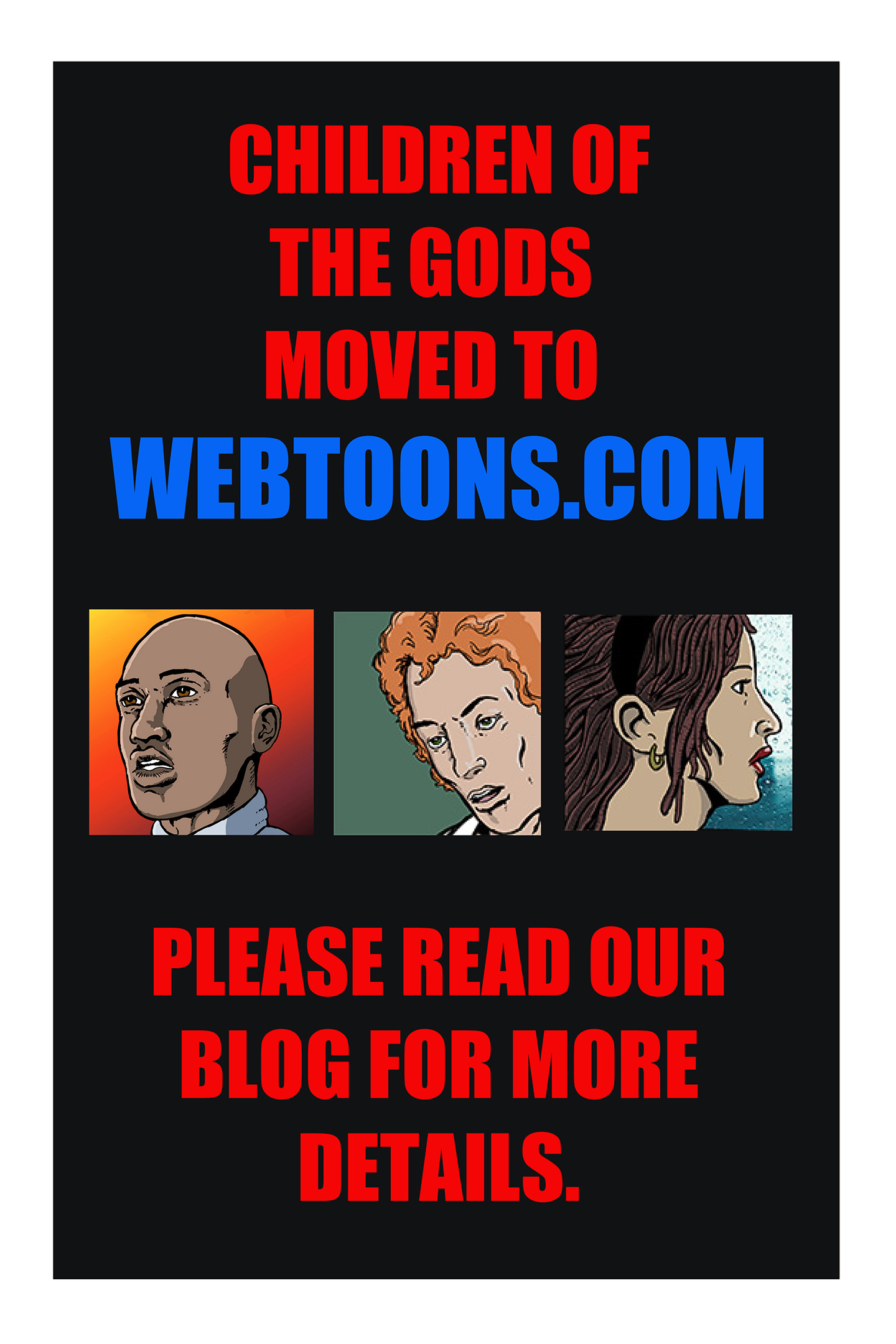 Children of the Gods has moved to Webtoons.com